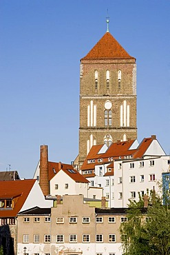 St. Nicholas Church in Rostock, Mecklenburg-Western Pomerania, Germany