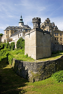 Castle Frydlant, Fr˝dlant, Friedland, Czech Republic