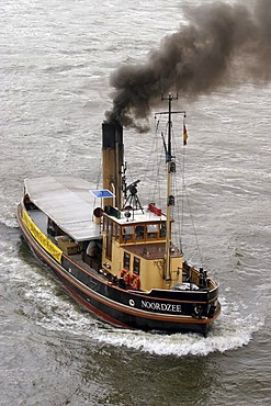 "The dutch steamboat ""Nordzee"""