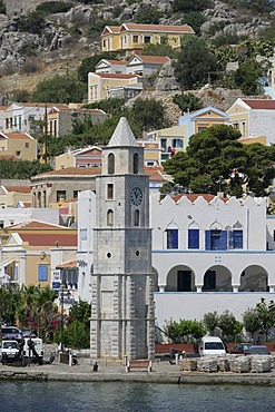 The Isle of Symi near Rhodes, Greece, Europe