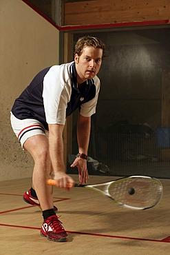 German league Squash player Hansi Seestaller from Schaengel Squash Club Koblenz
