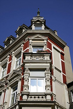 Facade at the mint place in the old town of Koblenz Rhineland-Palatinate Germany