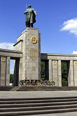 Soviet War Memorial on the 17th June in Berlin, Germany, Europe