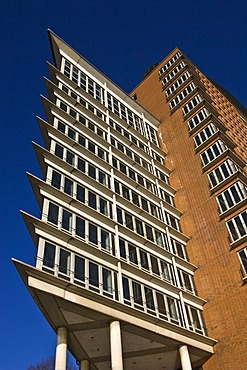 Exterior, Hanseatic Trade Center (HTC), Hafencity district, Hamburg Harbour, Hamburg, Germany, Europe