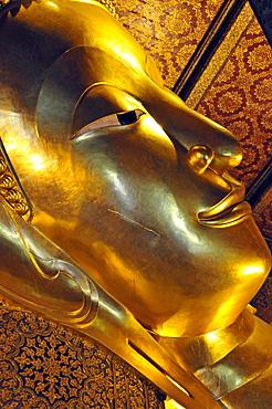 Laying Buddha, Wat Pho, Bangkok, Thailand, Southeast Asia, Asia
