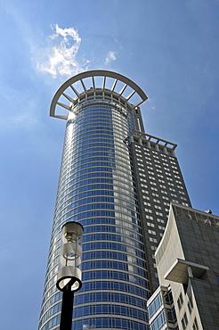 DZ Bank AG, Deutsche Zentral-Genossenschaftsbank in the Westendtower, Kronenhochhaus, Frankfurt, Hesse, Germany, Europe