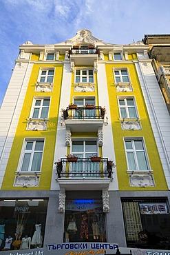 Yellow house in Varna, Bulgaria