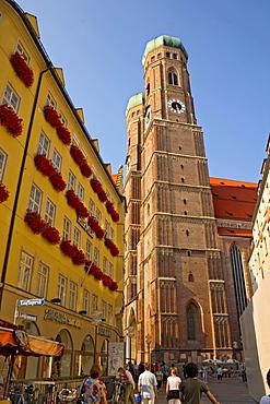 Frauenkirche, dome, Munich, Bavaria, Germany