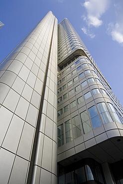 Office towers in Frankfurt, Hesse, Germany, Europe