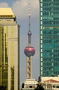 View from Renmin Park, Shanghai, China, Asia