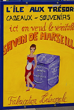 Typical souvenir, Soap from Marseilles, Marseilles, Provence-Alpes-Cote d'Azur, France