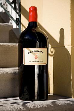 Periquita, magnum bottle of red wine, Bodega Jose Maria Fonseca, Vila Nogueira de Azeitao, Setúbal, Portugal, Europe