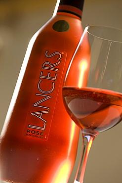 Lancers wine, Bodega Jose Maria Fonseca, Vila Nogueira de Azeitao, Setúbal, Portugal, Europe