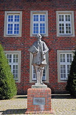 Johann Conrad Schlaun memorial, Nottuln, Muensterland, North Rhine-Westphalia, Germany, PublicGround