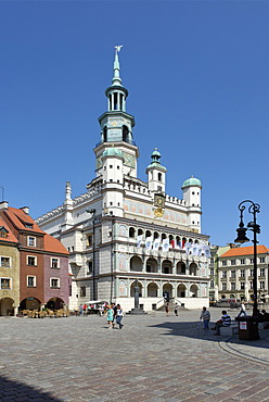 Town Hall, Old Town Square, Stary Rynek, Pozn√°n, Poland, Europe