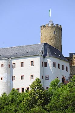 Burg Scharfenstein Castle, Scharfenstein near Drebach, Saxony, Germany, Europe