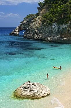 Beach, Cala Goloritze, Golfo di Orosei, Parco Nazionale del Gennargentu e Golfo di Goloritze, Sardinia, Italy, Europe
