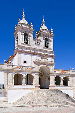 Igreja de Nossa Senhora da Nazare, Church of Nossa Senhora da Nazare, Largo Nossa Senhora da Nazare, Sitio village, Nazare, Oeste, Leiria District, Portugal, Europe