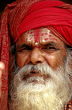 Sadhu, sacred man in Nepal