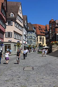Historic town centre of Tuebingen, Swabian Alb, Baden-Wuerttemberg, Germany, Europe, PublicGround