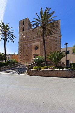 Church de S'Horta, Horta, Mallorca, Majorca, Balearic Islands, Spain, Europe
