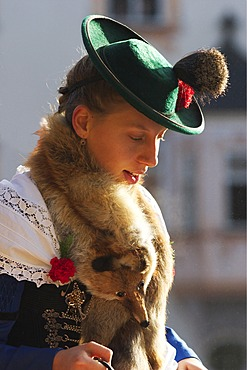 Saint Leonhard horse parade in Benediktbeuern - Upper Bavaria