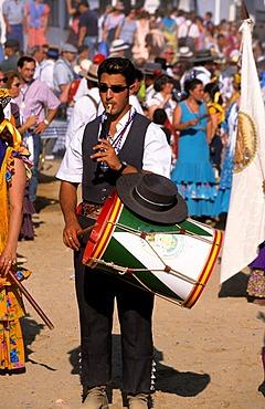 El Rocío El Rocio Romería pilgrimage Fiesta - Costa de la Luz Andalusia Province Huelva Spain