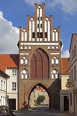 Rostock Gate, Teterow, Mecklenburg Switzerland, Mecklenburg-Western Pomerania, Germany, Europe