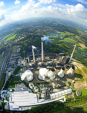 E.ON Scholven Power Station, Gelsenkirchen, Ruhr district, North Rhine-Westphalia, Germany, Europe