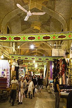 Bazar-e Vakil or Vakil Bazaar, Shiraz, Iran, Asia