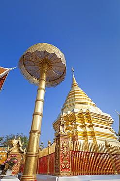 Wat Phra That Doi Suthep temple, Chiang Mai, Thailand, Asia