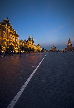 GUM department store, Red Square, Moscow, Russia, Europe