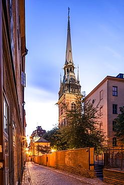 German Church or St. Gertrude's Church, Tyska kyrkan, historic centre, Gamla Stan, Stockholm, Stockholm County, Sweden, Europe