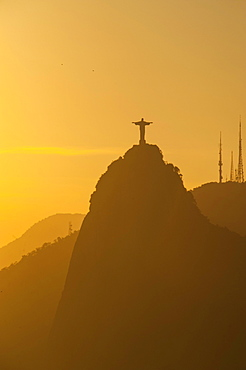 View from the Sugarloaf Mountain or Pao de Acucar, Rio de Janeiro, Brazil, South America