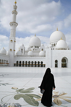 Sheikh Zayed Mosque, Abu Dhabi, Emirate of Abu Dhabi, United Arab Emirates, Asia