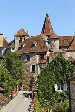 Carennac, labelled Les Plus Beaux Villages de France, The Most Beautiful Villages of France, Dordogne valley, Haut Quercy, Lot, France, Europe