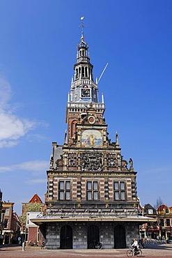 Cheese Museum, De Waag, former Weigh House, Alkmaar, North Holland, Holland, Netherlands, Europe