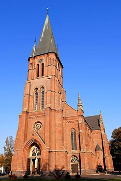 St. Anthony's Church in Papenburg, East Frisia, Lower Saxony, Germany, Europe