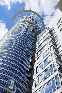 Westend Tower, headquarters of DZ Bank, Frankfurt am Main, Hesse, Germany, Europe