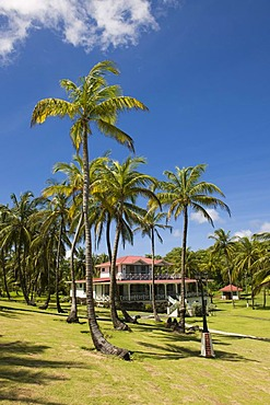 Weekend home of President Daniel Ortega, Big Corn Island, Caribbean Sea, Nicaragua, Central America