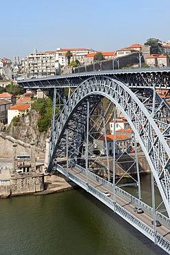 Dom Luis I bridge, Porto, Unesco World Heritage Site, Portugal, Europe