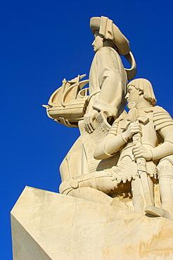 Monument to the Discoveries, Padrao dos Descobrimentos, Belem, Lisbon, Portugal, Europe