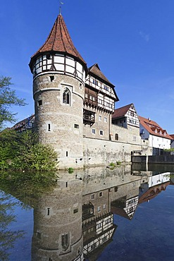 Zollernschloessle Castle, Balingen, Swabian Alb, Baden-Wuerttemberg, Germany, Europe