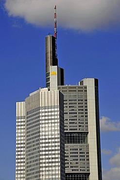 Commerzbank Tower, Frankfurt am Main, Hesse, Germany, Europe, PublicGround