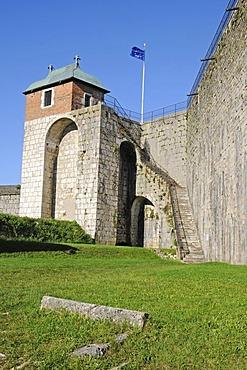 Tour du Roi Tower, La Citadelle, Citadel, fortifications of Vauban, UNESCO World Heritage Site, Besancon, department of Doubs, Franche-Comte, France, Europe