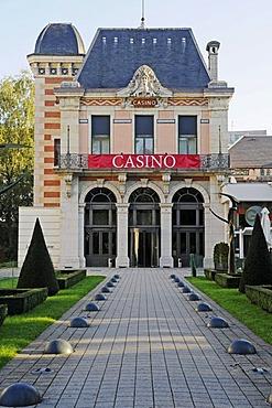 Casino, Besancon, department of Doubs, Franche-Comte, France, Europe, PublicGround