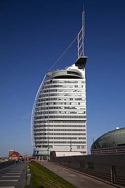 Conference Center, Sail City, Havenwelten, Bremerhaven, Lower Saxony, Germany, Europe, PublicGround