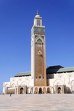 Hassan II Mosque, Grand Mosque of Hassan II, Casablanca, Morocco, North Africa, Africa