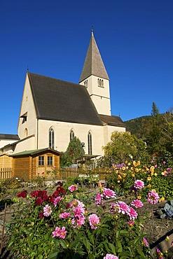 Church in Bischofshofen in Pongau region, Salzburger Land, Austria, Europe