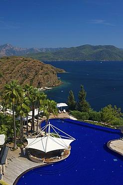 Swimming pool of the D-Hotel Maris in Marmaris, Turkish Aegean Coast, Turkey
